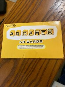 Nintendo 3DS AR Cards Used Authentic