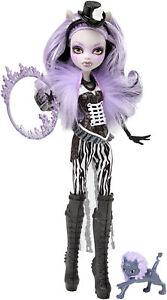 Mattel Monster High Clawdeen Wolf SCHAURIG SCHÖNE SHOW Freak du Chic OVP CKD75
