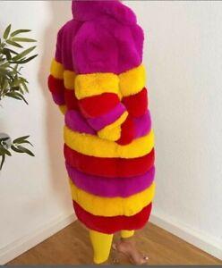 Fellmantel, Designer-Mantel, Faux Fur Mantel, Fake fur Mantel