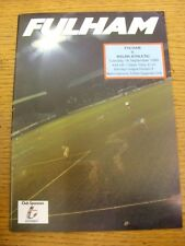 18/09/1990 V Wigan Athletic Fulham. artículo parece estar en buenas condiciones unles