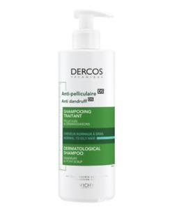 Vichy Dercos Anti Dandruff Hair Treatment Shampoo 400ml Normal / Oily  SUPERSIZE
