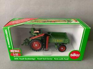 """SIKU 3476 1:32 Traktor / Trecker Fendt Geräteträger """" DieselRoss"""" (BN260-59R2/8)"""