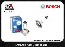 Bosch h7 12v 55w  2 lampadine alogene coppia lampade fari anteriori
