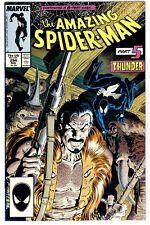 1)AMAZING SPIDER-MAN #294(11/87)KRAVENS LAST HUNT(D:KRAVEN)CGC IT(NM/NM+)THUNDER