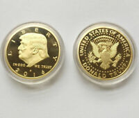 2016 Rare Donald Trump Republican Convention US Gold Zinc Eagle Collection Coin
