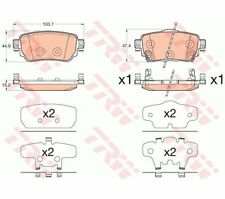 TRW Brake Pad Set, disc brake GDB3617