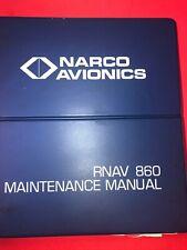 Narco RNAV 860 1982 Installation/Operation & Maintenance Manual 03225-0600