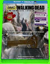 The Walking Dead Fourth Season (New) Blu-ray Limited Edition w/ Prison Key