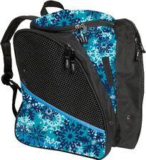 NWT Transpack Teal Snowflake Ice Figure Skate Backpack Bag