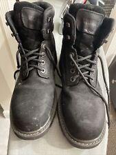 Wolverine Floorhand Steel Toe Work Boots, Black, Men's 9 M