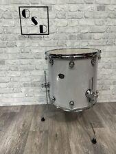 "More details for natal arcadia floor tom drum 16""x 16"" / white sparkle (new)"