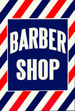 Retro Vintage Barber Shop Sign