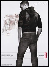 Ryan Vigilant 1-page clipping 2006 ad for Levi's