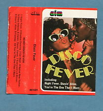 DISCO FEVER - Various Artists - Cassette Tape 1978