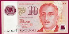 *QWC*  SINGAPORE - 10 Dollars - $10 - 2004 - POLYMER - UNC - 1ST PREFIX 0AA