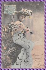 Carte Postale Fantaisie - carte photo d art - Gillet