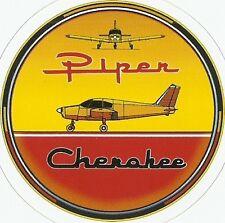 PIPER CHEROKEE AIRPLANE  Sticker Decal