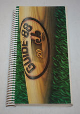 Vintage 1988 Montreal Expos Media Guide Book