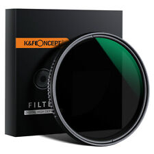K&F Concept Variable Fader ND Filter Neutral Density ND8 to ND2000 Ultra Slim