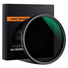 K&F Concept Variable ND Filter Adjustable Fader Neutral Density ND8 to ND2000