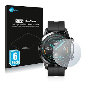 6x Protector Pantalla para Huawei Watch GT 2 (46 mm) Pelicula Protectora