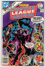 (1977) JUSTICE LEAGUE OF AMERICA #145 DC GIANT 52-PAGE ISSUE! HAWKGIRL! F / VF