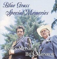 "JAMES & BILL MONROE, CD ""BLUE GRASS SPECIAL MEMORIES"" NEW SEALED"