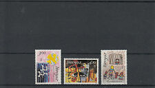 Faroe Islands Foroyar 1986 MNH 25th Anniv Amnesty International SG#133-5 Birds
