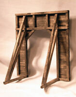 TIMBER TUNNEL PORTAL HO HOn3 Model Railroad Structure Unpainted Wood Kit HL203H