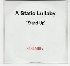 (EC982) A Static Lullaby, Stand Up - DJ CD