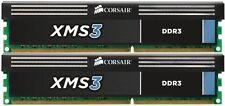 CORSAIR XMS3 16GB (2 x 8GB) CMX16GX3M2A1600C11  DDR3 1600 Desktop Memory RAM NEW