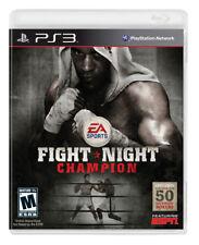FIGHT NIGHT CHAMPION  ( JEUX PLAYSTATION 3 ) NO MANUAL