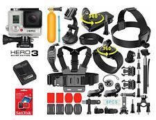Gopro hero 3 Silver Edition + 40 шт. экстремальный спорт комплект комплект комплект камера - 302