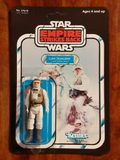 Vintage Star Wars Figure Luke Skywalker Hoth Battle Gear Recard 1980 ESB 47 Back
