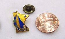 Minnesota State USA Boat Sailing Lapel Pin Pinback Hat Travel Regata