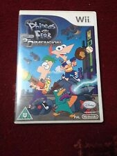 Phinias and Ferb Across The 2nd Dimension Wii Game Complete PAL TESTED & WORKING