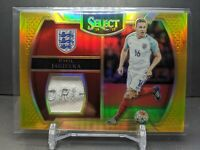 2016 Select Soccer Phil Jagielka Gold Logo Patch #05/10 England Dri-Fit SICK!