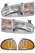 HOLIDAY RAMBLER VACATIONER 1996 1997 1998 HEADLIGHTS HEAD LIGHTS SIGNAL LAMPS RV