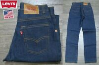 NEW VINTAGE 1980's LEVI'S 505 STUDENT RED TAB DENIM JEANS INDIGO USA 26X30