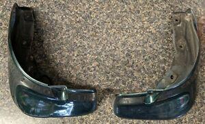 99-05 Mazda Miata Rear Mudflaps Mud Flap Pair Left Right Green OEM Used