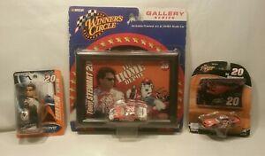 ☆ LOT Nascar Winners Circle 1/64 Tony Stewart 20 Home Depot W/Holo Card & Figure