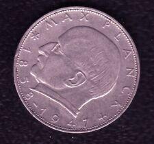 GERMANY 2 MARK 1958 F