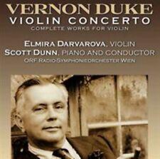 CD Vernon Duke Violin Concerto Sonata Homage to Offenbach Etude Bassoon Mexicano