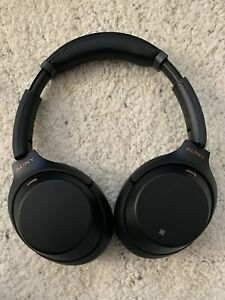 Sony WH-1000XM3 Wireless Bluetooth Noise Canceling Over Ear Headphones - Black