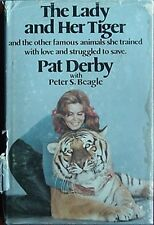 PAT DERBY (ANIMAL TRAINER FOR DISNEY & MOVIES) 1976 BOOK (FLIPPER, LASSIE +