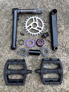 BSD Substance 22mm BMX Cranks Primo Odyssey Profile Federal United CULT FiT S&M