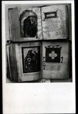 PATMOS (GRECE) LIVRES MANUSCRITS avec ENLUMINURES à la BIBLIOTHEQUE du COUVENT
