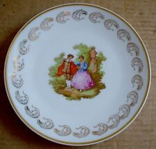 Limoges Collectors Plate Old Fashioned Scene #5