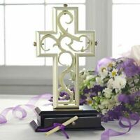 The Unity Cross Pearlescent Wedding Centerpiece Christian Limited Edition