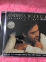 Andrea Bocelli - Aria - The Opera Album - 2005 CD - 19 Tracks SPECIAL EDITION